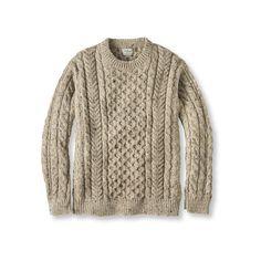 Need an aran sweater badly