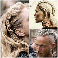 Viking braids. We're so in love with them! #HotOnBeauty www.hotonbeauty.com