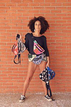 Pochete: Melissa Modelo: Yve Nolasco Maquiadora: Amanda Domingos Fotografa: Yuri Costa Stylist: Aryelle Mellin Yuri, Editorial, Costa, Amanda, Style, Fashion, Templates, Tejido, Moda
