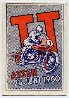 Suikerzakje van TT Assen uit 1960. Uit archief Martin Hiemink