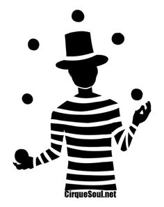 Juggler  - Circus and Entertainer T-Shirt.