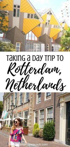 Day Trips From Amsterdam, Amsterdam City, Amsterdam Travel, Amsterdam Living, Amsterdam Itinerary, Monuments, Rome, Rotterdam Netherlands, Rotterdam Port