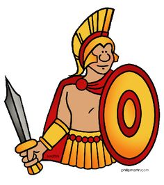 Free Presentations in PowerPoint format Wars in Ancient Greece - Trojan, Persian, Peloponnesian, Macedonia Illustration