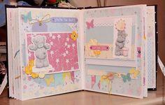 """Персональные подарки ручной работы. Ярмарка Мастеров - ручная работа Детский фотоальбом  для девочки """"Tatty Teddy"""" ручной работы. Handmade."""