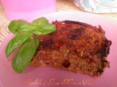 Parmigiana,ricetta vegetariana