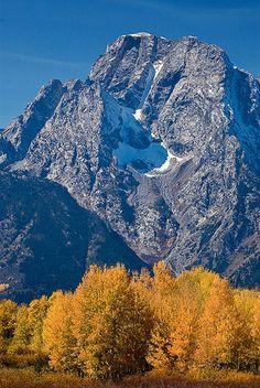 Mount Moran, Grand Teton National Park; photo by Stephen Weaver
