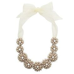 Statement necklace...i adore this!