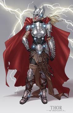 Thor by Zach Fischer                                                                                                                                                     More