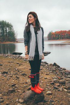 Sweater: Ralph Lauren (borrowed from Kiel) Pants: J.Crew Scarf: J.Crew Boots: Talbots ℅...