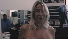 The first recipient of Eric Catalano's prosthetic nipple. - VIA YOUTUBE