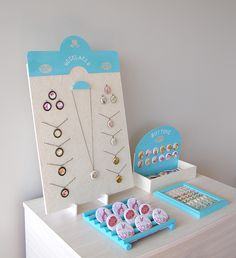Displays by bumble-boo