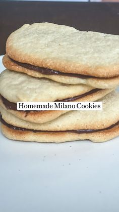 Healthy Deserts, Healthy Sweets, Healthy Dessert Recipes, Sweets Recipes, Vegan Desserts, Cookie Recipes, Healthy Snacks, Vegan Recipes, Sans Gluten