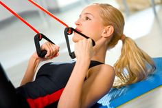 Resistance bands are one of the best pieces of workout equipment out there. With this one piece of equipment you can get a total body workout that is unmatched. Home Gym Exercises, At Home Workouts, Trx Class, Suspension Training, Trx Suspension, Beach Body Challenge, Training Classes, Fitness Classes, Home Workout Equipment