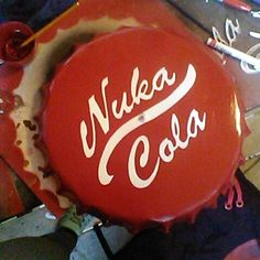 Giant Nuka Cola Cap