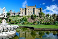 RIch and I spent a night in Scotland here in this castle.  Culzean Castle (Culzean, Scotland, UK)