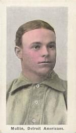 1910-11 Sporting Life M116 #190b George Mullin Front