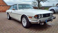 eBay: 1975 TRIUMPH STAG MK.2 AUTOMATIC WHITE WITH BLACK INTERIOR 61000 MILES. #classiccars #cars
