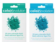 colo[r]evolution Fabric Dye on Packaging of the World - Creative Package Design Gallery