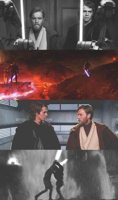 Star Wars, Obi Wan and Anakin