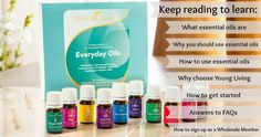 How to Get Started with Young Living Essential Oils Essential Oils For Face, Essential Oil Bottles, Young Living Essential Oils, Coconut Oil For Dogs, Coconut Oil For Skin, Aromatherapy Recipes, Young Living Oils, Oil Uses, Healing Herbs
