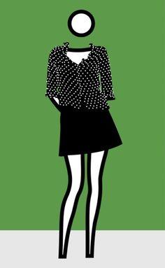 Julian Opie, 'Woman dressed 4,' 2002, Opera Gallery