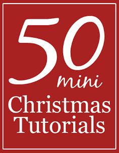 50 Miniature Christmas Tutorials~ Ideas from food to crafts and gift ideas- For miniatures & doll houses. Miniature Christmas, Noel Christmas, Christmas Is Coming, Christmas Projects, Christmas And New Year, All Things Christmas, Winter Christmas, Holiday Crafts, Holiday Fun