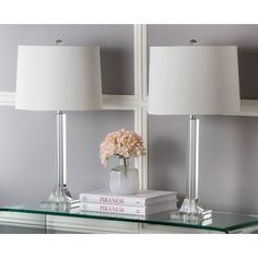 Cast a warm glow over your parlor seating group or reading nook with this lamp.