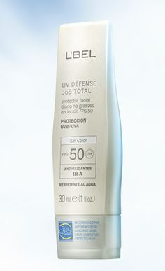 L'BEL UV Defense 365 Total FPS 50 - De venta en: Tiendita De Belleza Laguna - https://www.facebook.com/TienditadeBellezaLaguna/
