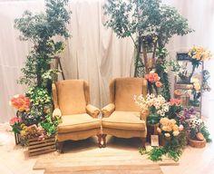 高砂に椅子・チェアだけを置いたデコレーション方法 | marry[マリー]