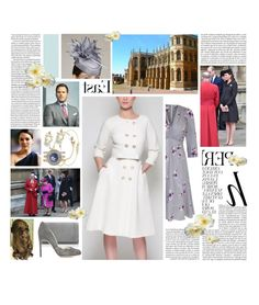 """""""Untitled #3286"""" by duchessq ❤ liked on Polyvore featuring Whiteley, Rupert Sanderson, Blue Nile and Georg Jensen"""
