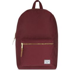 Settlement canvas backpack (385 ILS) ❤ liked on Polyvore featuring bags, backpacks, windsor wine, padded laptop bag, red backpack, canvas bag, canvas knapsack and canvas backpack