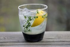 Tequila thyme limeade