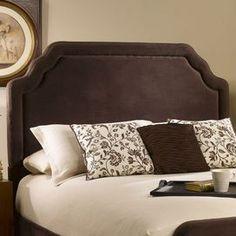 Ethan headboard in velvet chocolate Dimensions:  Queen:58 H x 64.5 W x 3.5 D   King:58 H x 80.5 W x 3.5D D