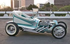 Ed Roth's Outlaw '59 - I have a model of this T-bucket.  Put it together back in the mid 1960s...still have it!