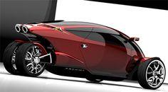 Proxima Concept, coche futurista, moto futurista