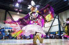 Purple Passion // UNM-Gallup Native American Club's fall Pow Wow 2012 by Donovan Shortey, via Flickr