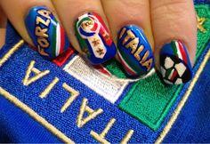 Italian Soccer Nails