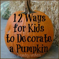 12 Ways to Decorate Halloween Pumpkins