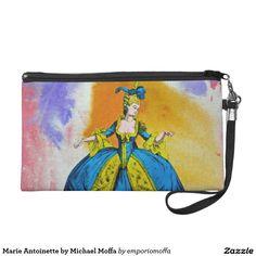 Marie Antoinette by Michael Moffa Wristlet Purses