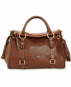 Dooney & Bourke Handbag, Florentine Vachetta Small Satchel - All Handbags - Handbags & Accessories - Macy's
