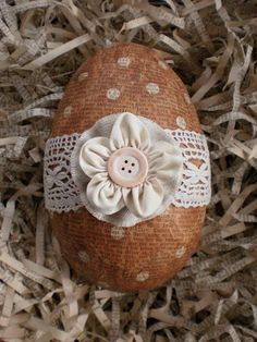 Even though I had started pretty early on my Easter decoration, it didn't get finished this year. After I had arranged swaps with three wond...
