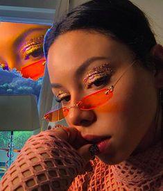 Her glasses😍. Sunglasses For Your Face Shape, Cute Sunglasses, Cat Eye Sunglasses, Sunglasses Women, Sunnies, Fake Glasses, Glasses Frames, Womens Fashion Online, Latest Fashion For Women