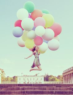 I want a photoshoot with Balloons!