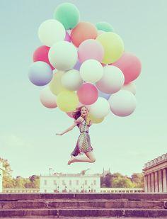 Des beaux ballons pastels