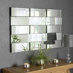 View Banco Brick Art Deco Mirror product from Soraya Interiors UK, See more products like this and more wall mirror categories Funky Mirrors, Glass Mirrors, Large Mirrors, Venetian Mirrors, Bed Headboard Wooden, Art Deco Spiegel, Chandelier Floor Lamp, Art Deco