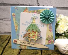 The brand new Dovecraft Forget Me Not craft collection, available early June 2014 Floral Wellies, Forget Me Not, Scrapbook Paper, Scrapbooking, Bird Cage, Crafts To Do, Homemade, Cards, How To Make