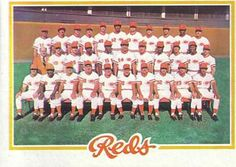 1978 baseball cards reds tc -  NM-MT Have 1 for sell/trade