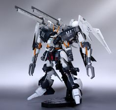 Byarlant Custom Modeled by tsuka HGUC Byarlant Custom - Customized Build HGUC Byarlant Custom - Customized Build Custom Gundam, Gunpla Custom, Zeta Gundam, Steampunk, Gundam Mobile Suit, Man Of War, Gundam Art, Mecha Anime, Mechanical Design