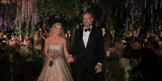 Here comes the bride!  Yep, that's right, Jessica Simpson and Eric Johnson's lavish wedding was caught on camera, and People magazine obtained the amazing footage. Simpson dazzled in her Carolina Herrera gown as she and her longtime beau walked dow...