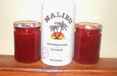Strawberry Coconut Rum Jam